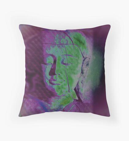 5683v Buddha Throw Pillow