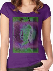 5683v Buddha Women's Fitted Scoop T-Shirt