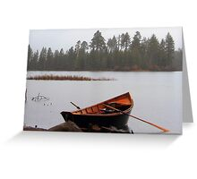 Its raining,Its pouring.... Greeting Card