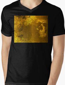 Golden Decay Mens V-Neck T-Shirt