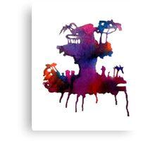 Gorillaz Plastic Beach Canvas Print
