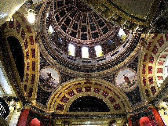 Montana Capitol Dome by Kay Kempton Raade