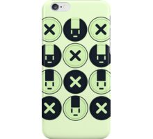 Noiz Usagi Button iPhone Case/Skin