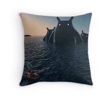 The Wonders of the Sea Throw Pillow
