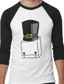 Hatty Head Men's Baseball ¾ T-Shirt