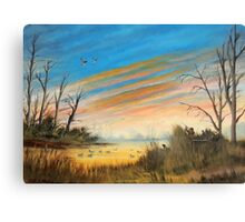 Evening Duck Hunt Canvas Print