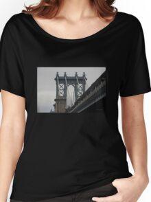 Manhattan Bridge Women's Relaxed Fit T-Shirt
