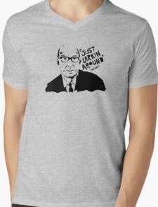 Just Larkin Around Mens V-Neck T-Shirt