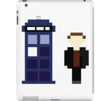 Pixel 9th Doctor and TARDIS iPad Case/Skin