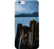 Pier into the Blue iPhone Case/Skin
