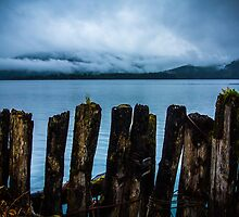 Pier into the Blue by Shaynelee