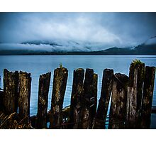 Pier into the Blue Photographic Print