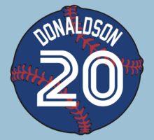 Josh Donaldson Baseball Design by canossagraphics