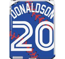 Josh Donaldson Baseball Design iPad Case/Skin