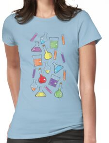 ceLABORATORY glassware Womens Fitted T-Shirt