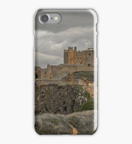 Bamburgh Castle Northumberland iPhone Case/Skin