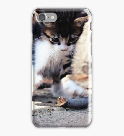 Playful Kitten iPhone Case/Skin