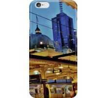 early morning @ flinders street station, melbourne iPhone Case/Skin