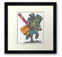 Dungeons & Dragons & MF DOOM Framed Print