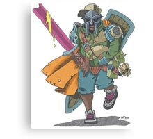 Dungeons & Dragons & MF DOOM Canvas Print