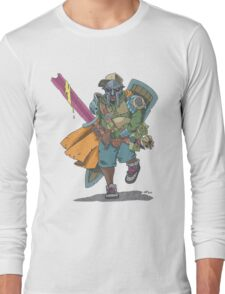 Dungeons & Dragons & MF DOOM Long Sleeve T-Shirt