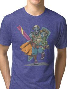 Dungeons & Dragons & MF DOOM Tri-blend T-Shirt