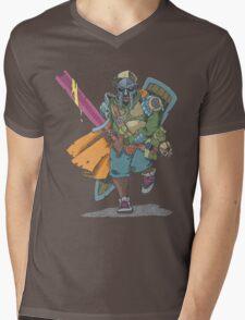 Dungeons & Dragons & MF DOOM Mens V-Neck T-Shirt