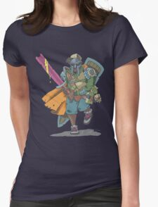 Dungeons & Dragons & MF DOOM Womens Fitted T-Shirt