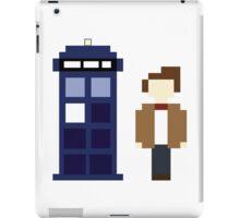 Pixel 11th Doctor and TARDIS iPad Case/Skin