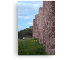 Alcazaba exterior wall - Malaga Metal Print