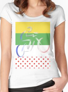 Le Tour Women's Fitted Scoop T-Shirt
