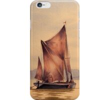 River Thames At Greenwich London iPhone Case/Skin