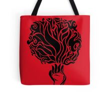 Palm Of Fire Tote Bag
