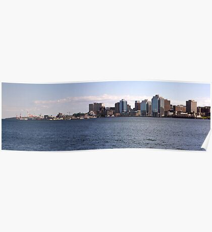 Halifax Harbour Panorama Poster