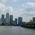 Canary Warf, London by Gica