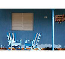 Dog Sleeping at Casa Gonzalo, Vinales, Cuba Photographic Print