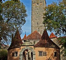 Rothenburg  - Burgtor #2 2007 by David J Dionne