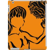 Girl With Palm Of Flame iPad Case/Skin