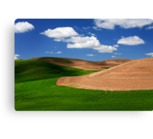 Palouse Field Canvas Print
