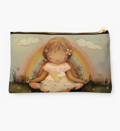 The Garden of Peace Studio Pouch
