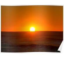 Blood sunrise Poster