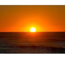 Blood sunrise Photographic Print
