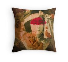 Vintage tag Throw Pillow