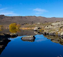 Central Otago Tarn by Les Pullen