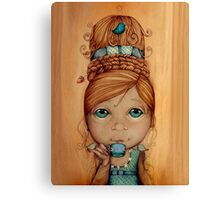 Brand New Hairdo Canvas Print