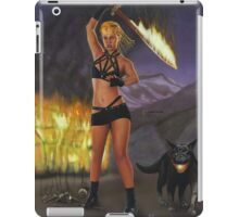 Fire Giant, part of the Giants series iPad Case/Skin
