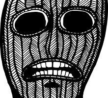 Skull in a Ski Mask by reggiebags