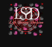 LSD With Love (dark) Womens Fitted T-Shirt