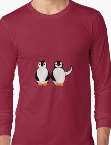 Mr. and Mrs. Long Sleeve T-Shirt