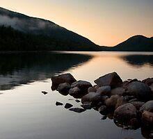 Jordan Pond - Acadia National Park by Patrick Downey